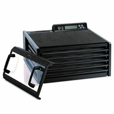 Picture of Excalibur Dehydrator 5 Tray, Digital 48hr timer , Black